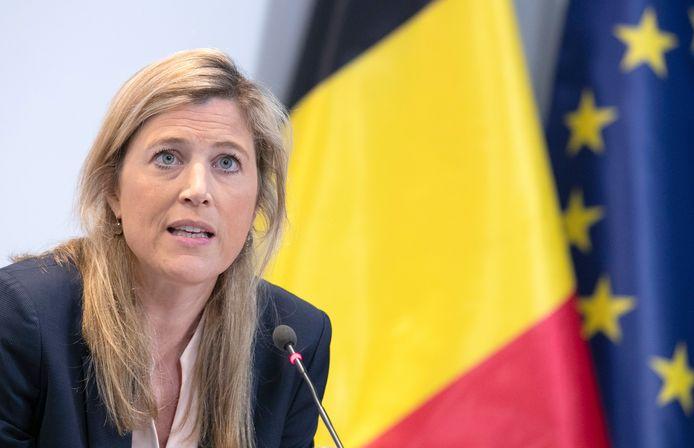 Annelies Verlinden, ministre de l'Intérieur