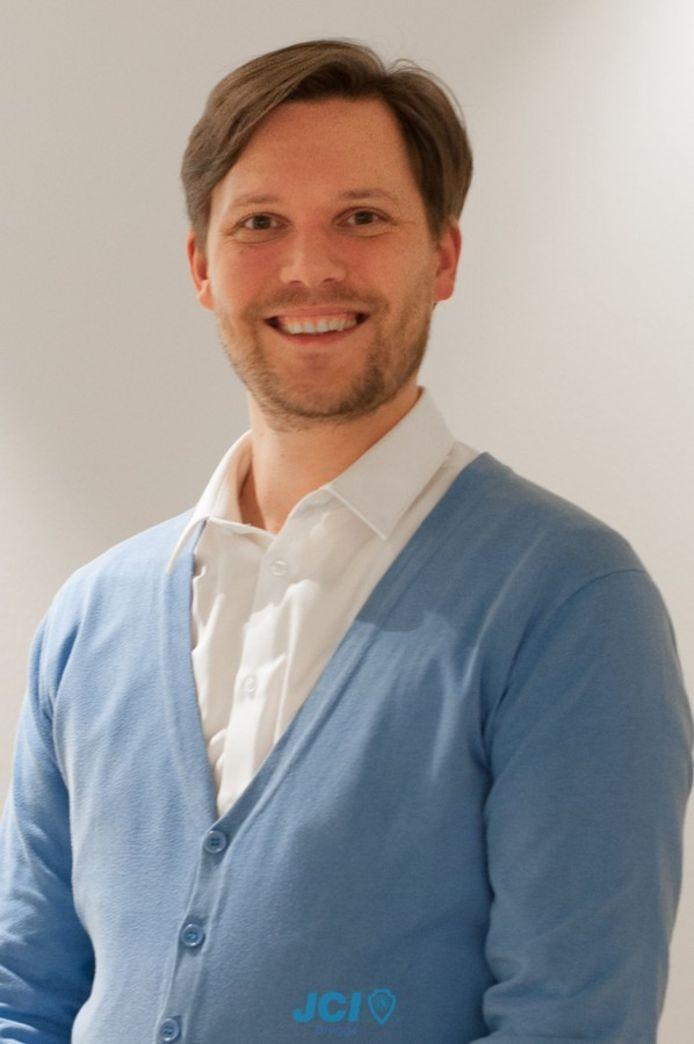 Jonathan Schuermans uit Jabbeke is de nieuwe voorzitter van JCI Vlaanderen.