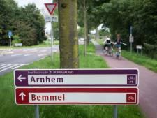 RijnWaalpad veiliger voor fietsers met nieuwe rotonde bij Bemmel