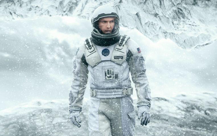 Matthew McConaughey in Interstellar (2014). Beeld