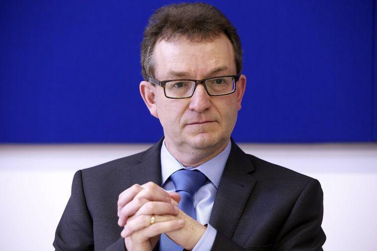 Lieven Boeve, topman van Katholiek Onderwijs Vlaanderen, dringt aan op extra middelen voor het M-decreet, waardoor kinderen met zorgnoden terechtkunnen in het regulier onderwijs. Beeld belga