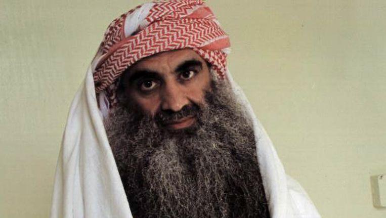 Khalid Sheikh Mohammed op archiefbeeld