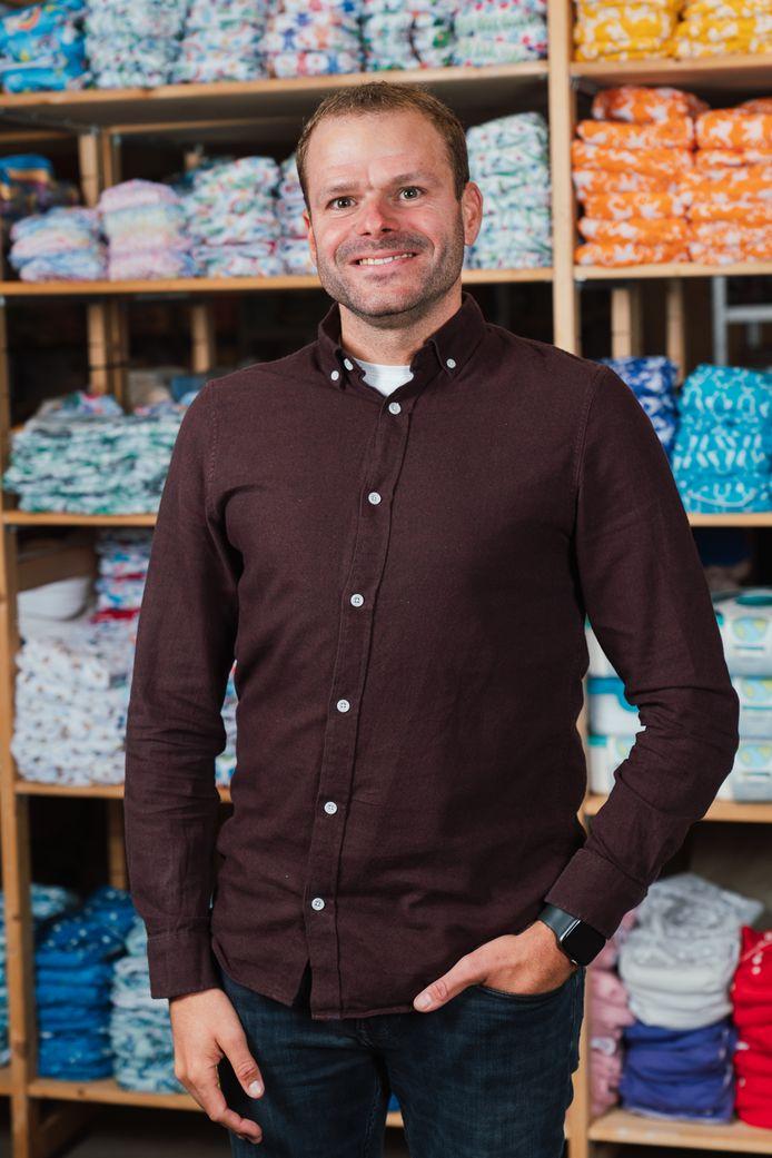Jeffrey Scholten van HappyBear Diapers.