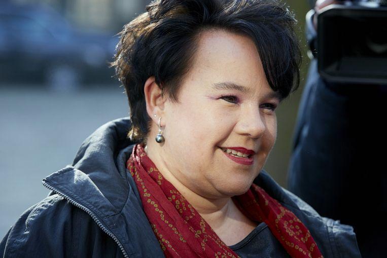 Sharon Dijksma, demissionair staatssecretaris van infrastructuur en milieu. Beeld anp