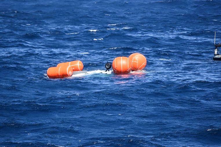 Voor de kust van Aruba stortte in juli een NH90-helikopter van de Nederlandse Marine in zee.  Beeld Ministerie van Defensie