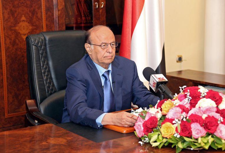President Hadi. Beeld epa