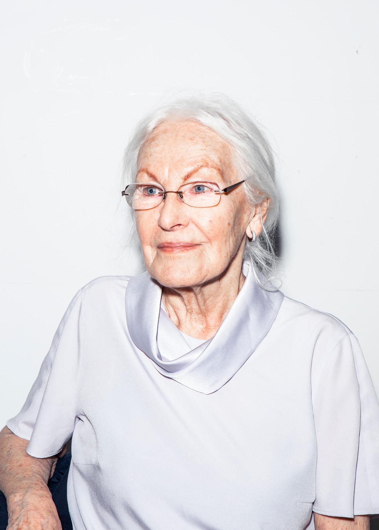 Irmgard Springer, 87 jaar.