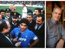 FC Twente-keeper Snelders: 'Maradona zat met mij te dollen: hij had mijn schoen meegenomen'