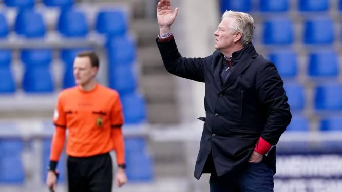 """Beschaamde Peter Maes ziet STVV afgeslacht worden in derby: """"Hoop dat we nog één keer knallen tegen Anderlecht"""""""