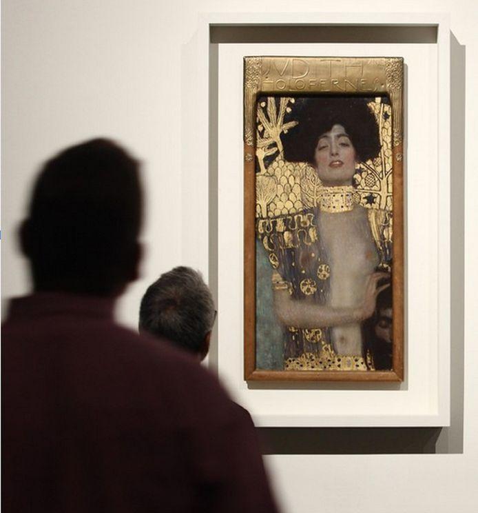 Het beroemde schilderij dat binnenkort in het Gemeentemuseum te bewonderen is.