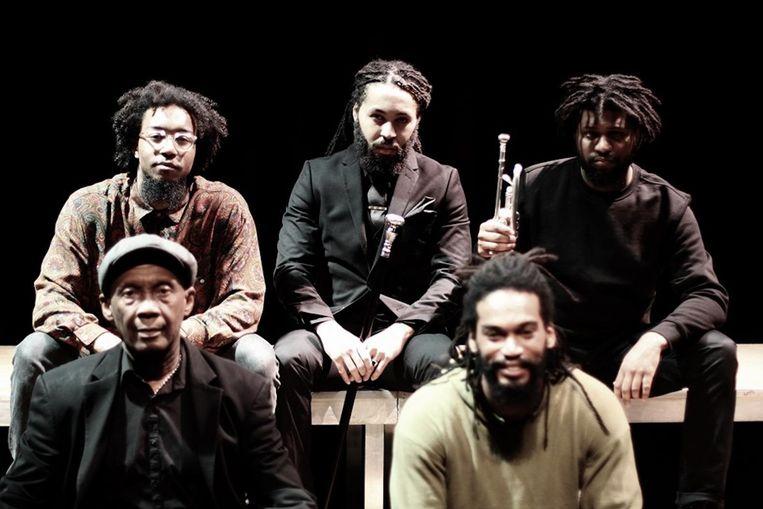 In het Bijlmer Parktheater kunnen jonge zwarte mannen hun kracht vinden. Beeld Black Empowerment Youth Day