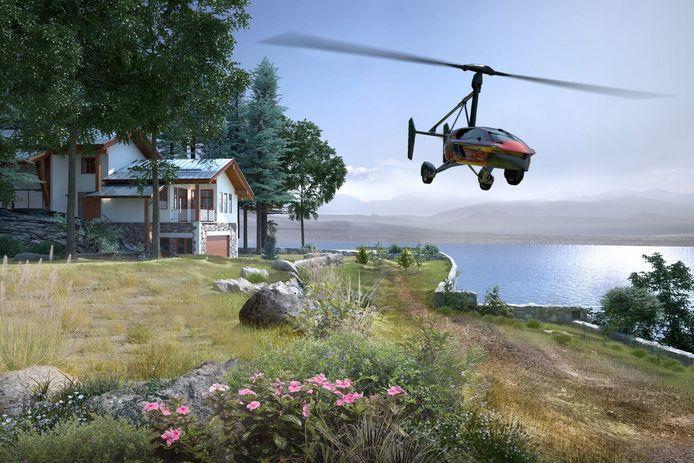 Vanaf vandaag is de gyrocopter te koop.