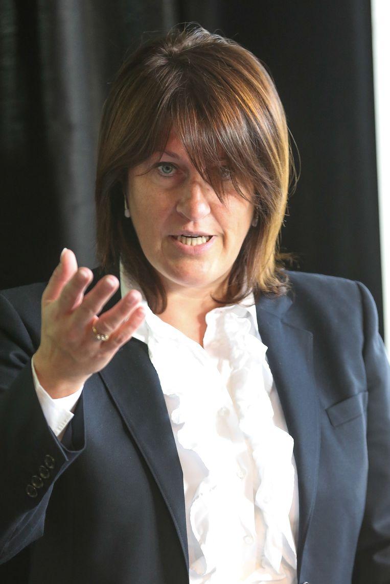 Minister van Mobiliteit Jaqueline Galant.