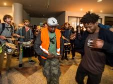 """Des migrants occupent un hôtel bruxellois: """"Nous ne voulons pas retourner en Afrique"""""""