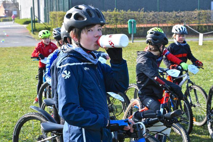 Het mountainbikekampje in Rumbeke is een succes.