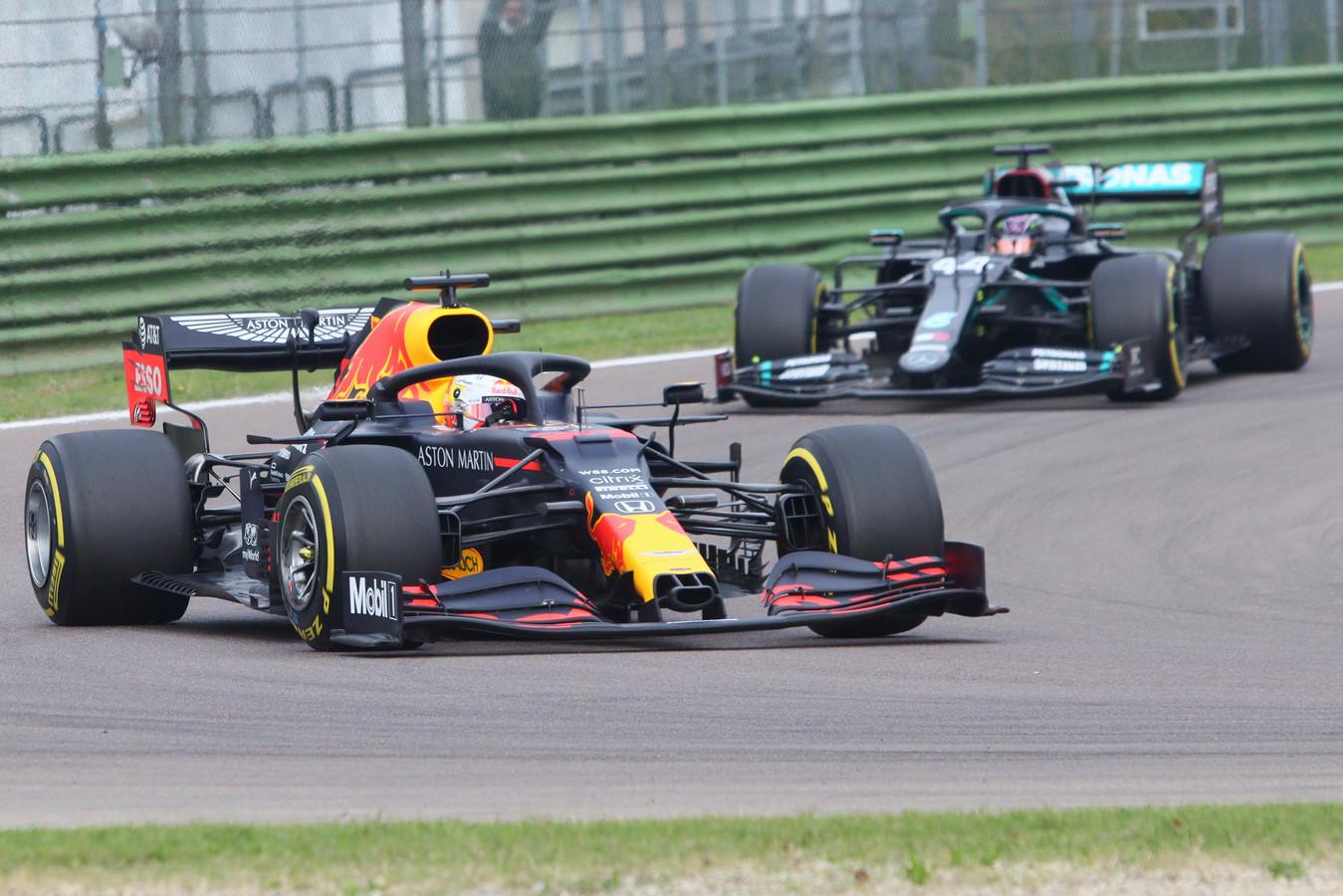 Max Verstappen en Lewis Hamilton rijden volgend seizoen ook in Saoedi-Arabië.