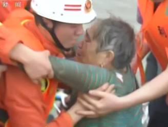 Chinese vrouw uit gekapseisd schip gered