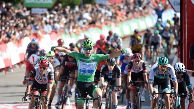 Jakobsen snelt op 25ste verjaardag naar z'n derde ritzege in de Vuelta