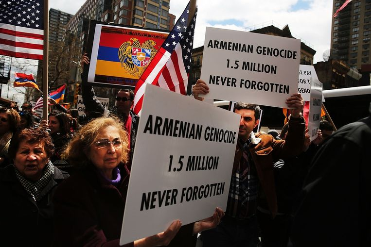 New York, VS.Beeld AFP