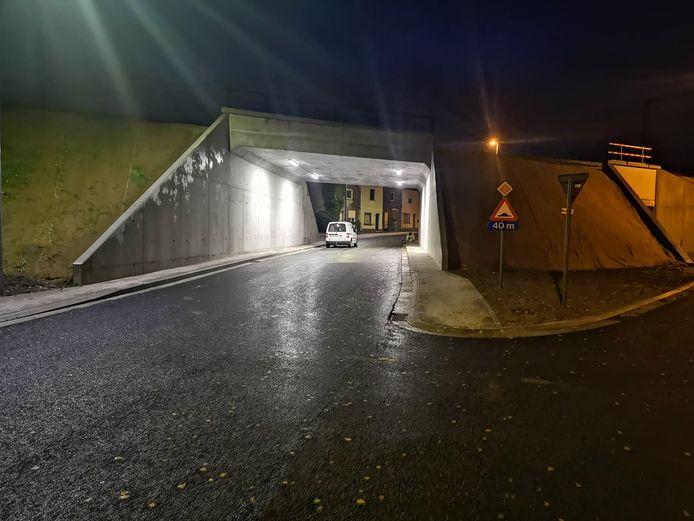 Momenteel worden de laatste werken uitgevoerd aan de tunnel.