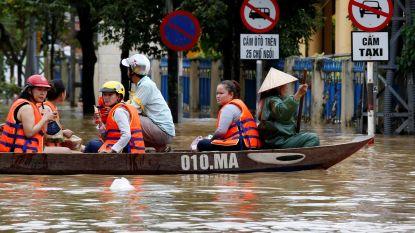 Zes doden en 15.000 woningen overstroomd door tropische depressie in Vietnam