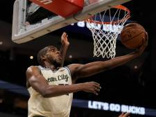 Milwaukee Bucks winnen ook zonder kersverse vader Antetokounmpo