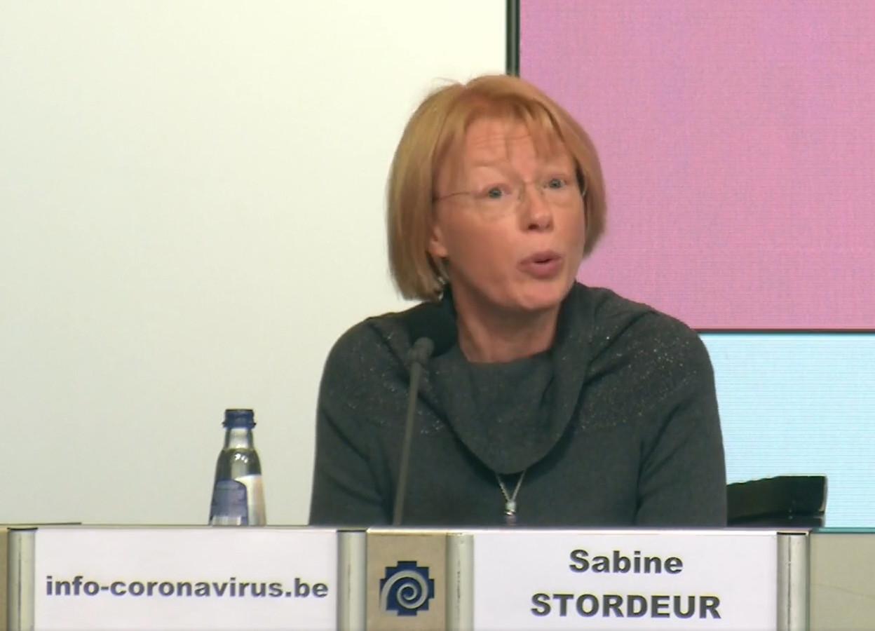 Sabine Stordeur, de la Task Force Vaccination