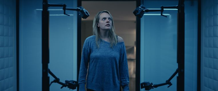 Elisabeth Moss in The Invisible Man. Beeld
