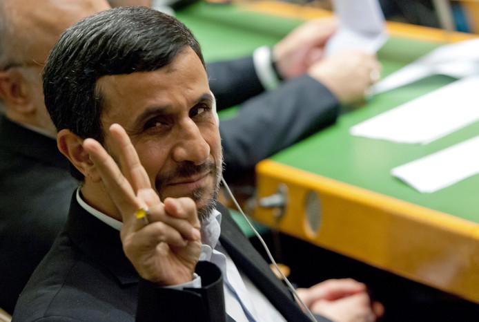 Alors qu'il sortait de son hôtel new yorkais, Mahmoud Ahmadinejd a entendu une balle siffler.