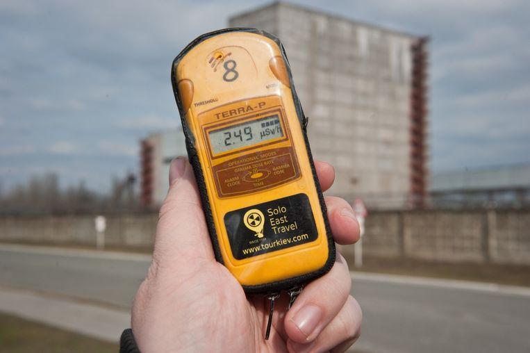 Een stralingsmeter. Beeld Chris Heijmans