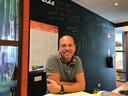 Directeur Robert van der Velde van basisschool 't Slingertouw in Meerhoven Eindhoven.