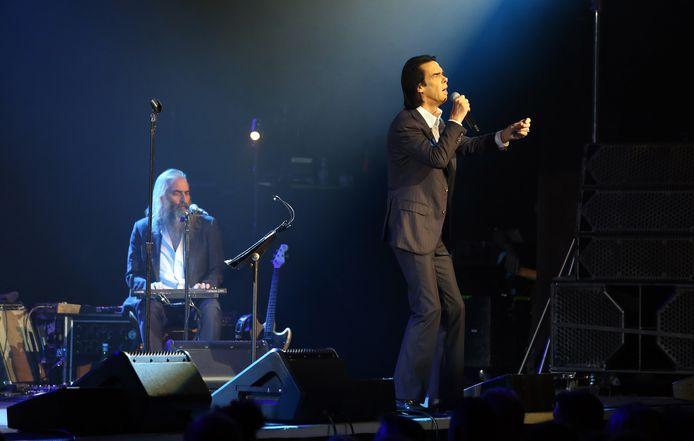 Nick Cave en Warren Ellis
