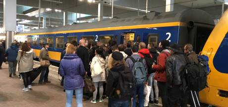 Trein Breda - Amsterdam blijft slecht scoren: veel uitval, nog meer vertragingen