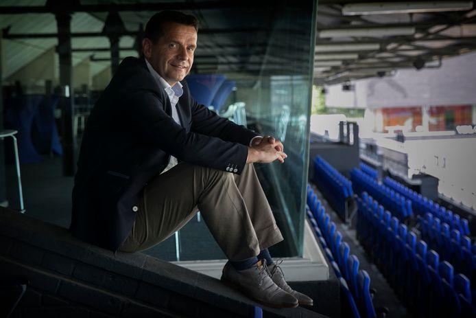Frans Janssen, voorzitter van FC Eindhoven