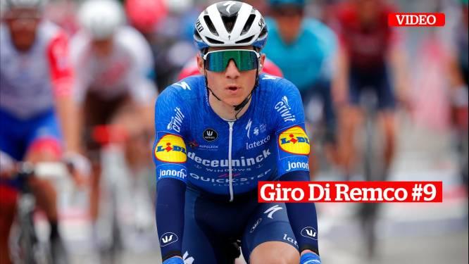 """Giro Di Remco #9. """"De slothelling van 15 kilometer naar San Giacomo is een lopende klim en moet de tempoklimmer in Evenepoel in principe beter liggen"""""""