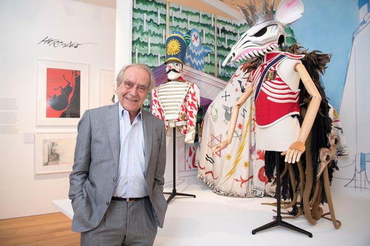 Het is voor het eerst dat het artistieke werk van de 81-jarige illustrator bijeen is gebracht. Beeld
