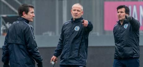 De eerste trainingsdag van Jack de Gier bij FC Den Bosch: coach gaat risico's zeker niet uit de weg