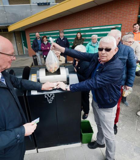 Enschede komt met afvalcontainer voor etensresten van flatbewoners