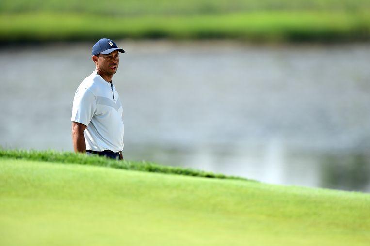 Tiger Woods was verwikkeld in buitenechtelijke affaires en raakte betrokken bij een verkeersongeluk. Beeld Getty Images