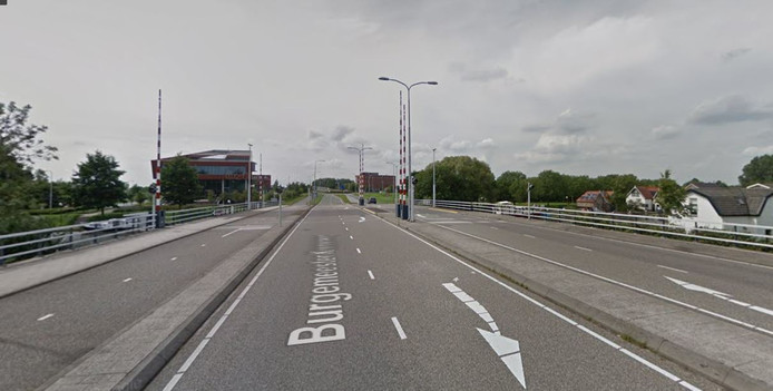 Burgemeester Crolesbrug in Bodegraven.