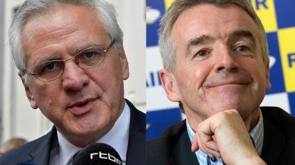 """Peeters stuurt brief naar Ryanair-baas: """"Laat conflict niet escaleren"""""""