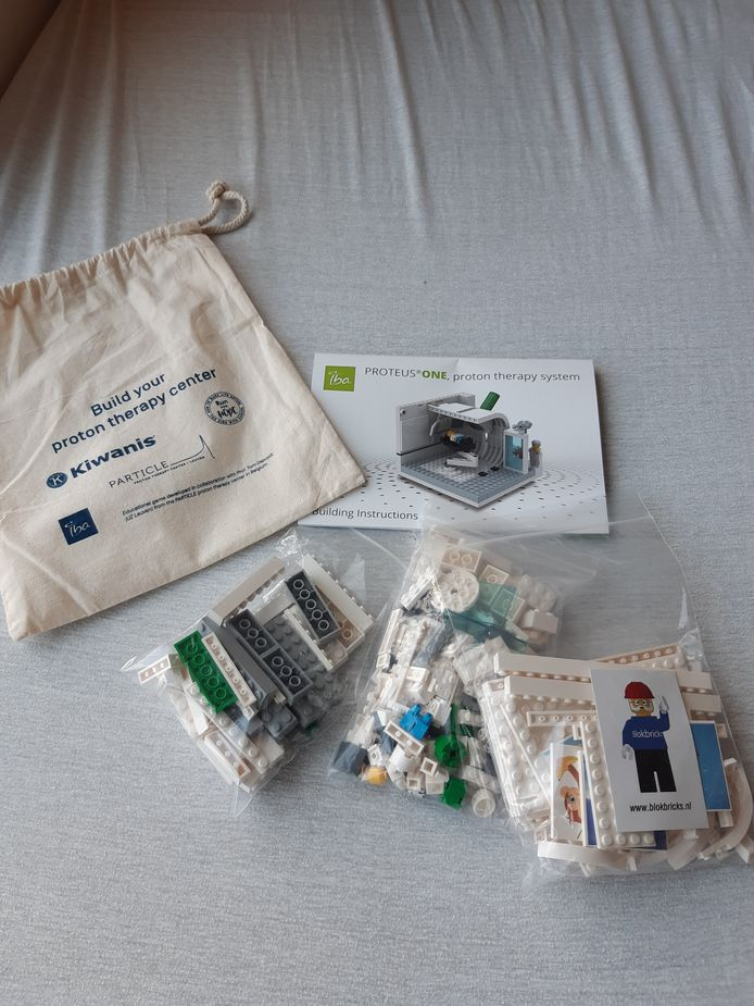 Protontherapie UZ Leuven Lego