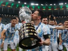 Messi stoot Ronaldo van de troon met 20 miljoen likes op foto met Copa América