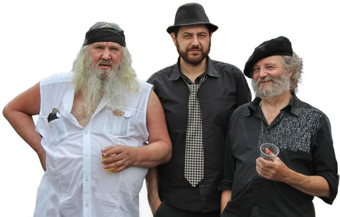 Zjuul Krapuul, Stef Bef en Jos Smos.