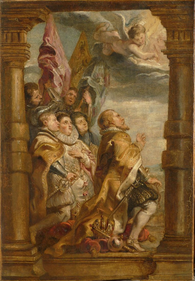 Rubens' werk in de huidige staat. Beeld