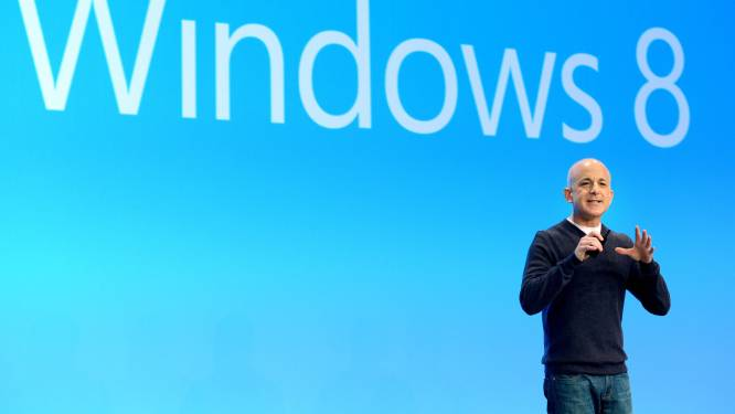 Windows-topman Sinofsky vertrekt bij Microsoft
