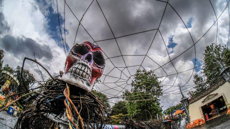 Pretpark Bellewaerde staat sinds weer in het teken van Halloween.