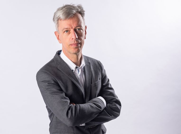 Econoom Geert Noels. Beeld Gregory Van Gansen / Photo News