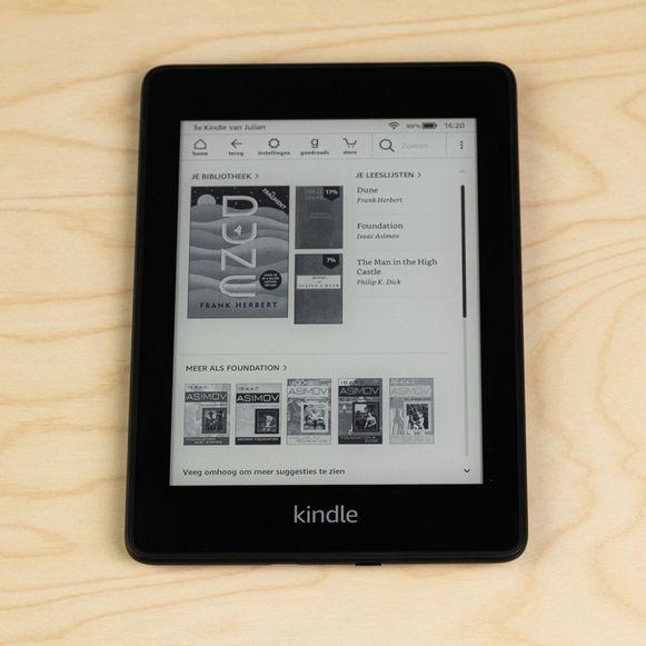 De Kindle PaperWhite.