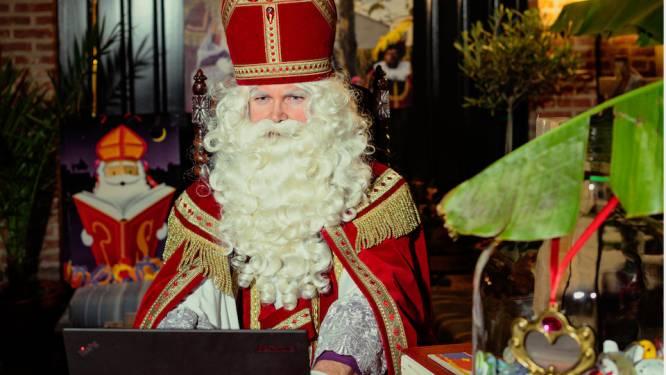 Online op de schoot bij Sinterklaas, dan kan vanavond via Zoom. Covitesse 6 krijgt de echte Sint op bezoek